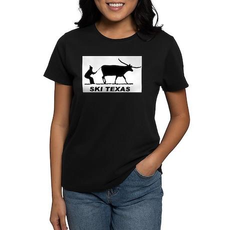 Ski Texas Women's Dark T-Shirt