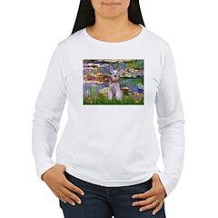 Lilies / M Schnauzer T-Shirt