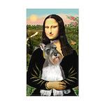 Mona / M Schnauzer Sticker (Rectangle)