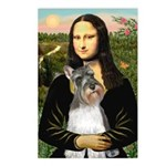 Mona / M Schnauzer Postcards (Package of 8)