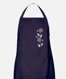 Flowers And Bees Apron (dark)