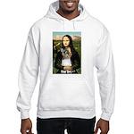 Mona / M Schnauzer Hooded Sweatshirt