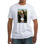 Mona / M Schnauzer Fitted T-Shirt