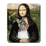 Mona / M Schnauzer Mousepad