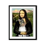 Mona / M Schnauzer Framed Panel Print