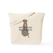 Ridgeback w/ Text Tote Bag