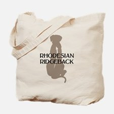 Ridgeback w/ Text Tote Bag