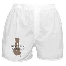Ridgeback w/ Text Boxer Shorts