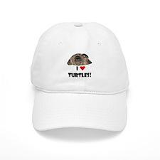 I Heart (Love) Turtles Baseball Cap