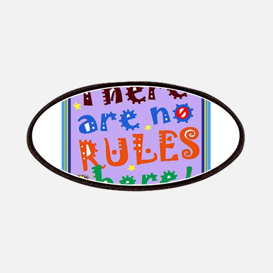 No Rules Here Patch