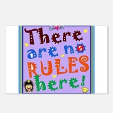 No Rules Here Postcards (Package of 8)
