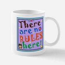 No Rules Here Mugs