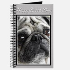 Happy Boss's Day Pug Journal