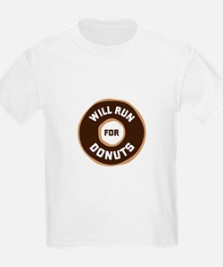 Will Run For Donuts T-Shirt