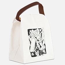 Cute John Canvas Lunch Bag
