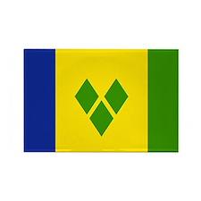 Saint Vincent and Grenadines Rectangle Magnet