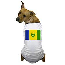 Saint Vincent and Grenadines Dog T-Shirt