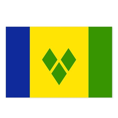 Saint Vincent and Grenadines Postcards (Package of