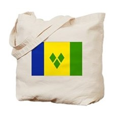Saint Vincent and Grenadines Tote Bag