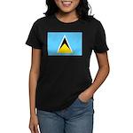 Saint Lucia Women's Dark T-Shirt
