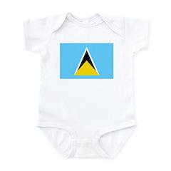 Saint Lucia Infant Bodysuit