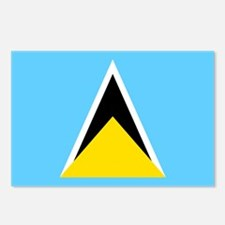 Saint Lucia Postcards (Package of 8)
