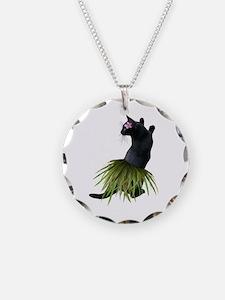 Hula Cat Necklace