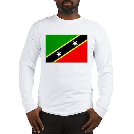 Saint Kitts and Nevis Long Sleeve T-Shirt