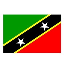 Saint Kitts and Nevis Postcards (Package of 8)