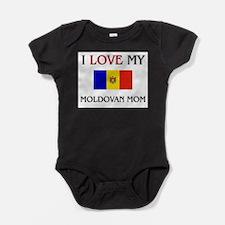 Cute Moldova Baby Bodysuit