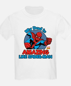 My Dad is Amazing Like Spider-M T-Shirt