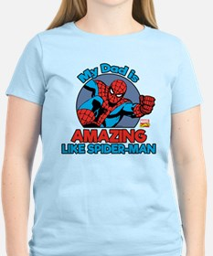 My Dad is Amazing Like Spide T-Shirt