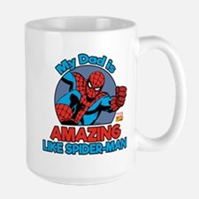 My Dad is Amazing Like Spider-Man Mug