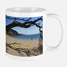Australia Beach Point Nepean Framed by Driftw Mugs