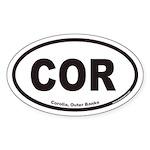 Corolla COR Euro Oval Sticker