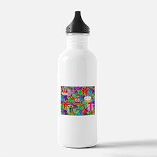 happy birthday poop em Water Bottle