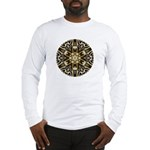 Golden Bands Of Light Long Sleeve T-Shirt