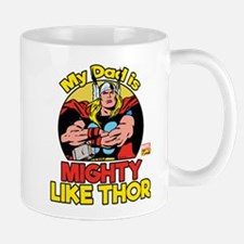 My Dad is Mighty Like Thor Small Small Mug