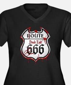 Route 666 Plus Size T-Shirt