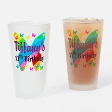 PERSONALIZED 11TH Drinking Glass