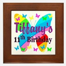 PERSONALIZED 11TH Framed Tile