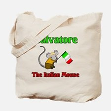 Salvatore The Italian Mouse Tote Bag