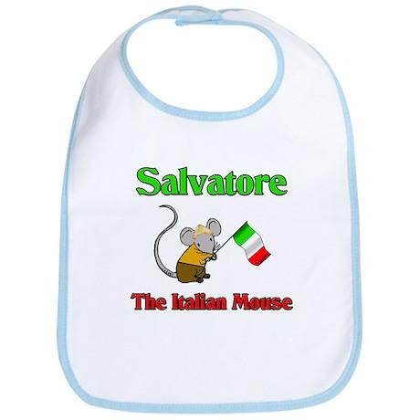 Salvatore The Italian Mouse Bib