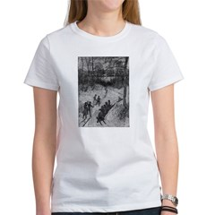 Sledding Women's T-Shirt