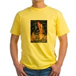 Fairies / Shar Pei Yellow T-Shirt