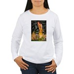 Fairies / Shar Pei Women's Long Sleeve T-Shirt