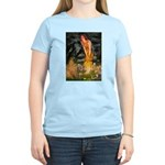 Fairies / Shar Pei Women's Light T-Shirt