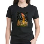 Fairies / Shar Pei Women's Dark T-Shirt