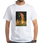 Fairies / Shar Pei White T-Shirt