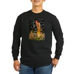 Fairies / Shar Pei Long Sleeve Dark T-Shirt